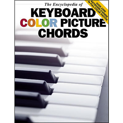 Music Sales The Encyclopedia Of Keyboard Color Picture Chords
