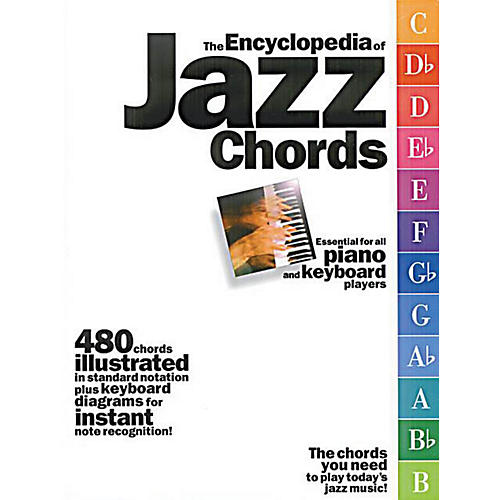 Music Sales The Encyclopedia of Jazz Chords Music Sales America Series Softcover Written by Various