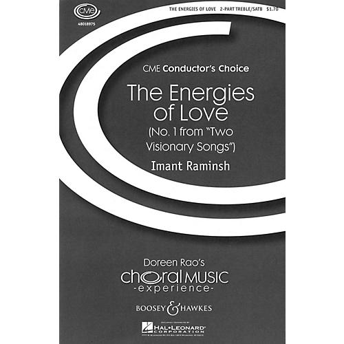 Boosey and Hawkes The Energies of Love (No. 1 from Two Visionary Songs) SATB composed by Imant Raminsh