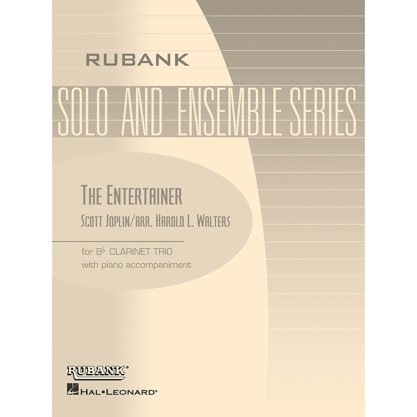 Rubank Publications The Entertainer (Three Bb Clarinets with Piano - Grade 2.5) Rubank Solo/Ensemble Sheet Series Softcover