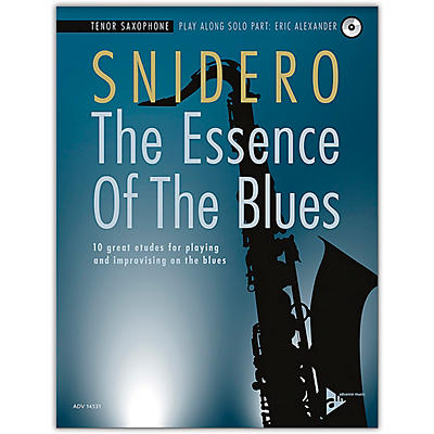 ADVANCE MUSIC The Essence of the Blues: Tenor Saxophone Book & CD