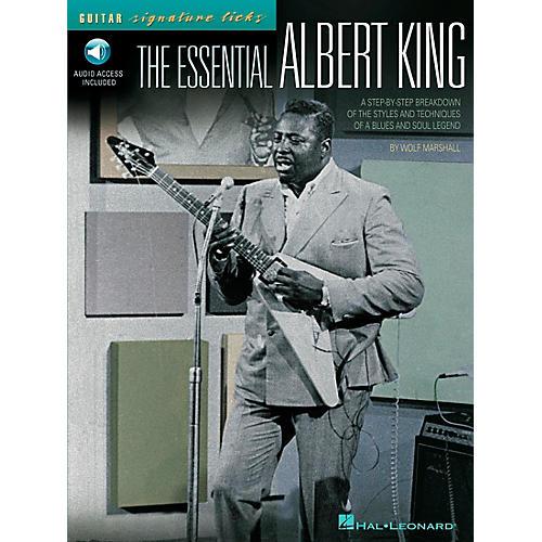 Hal Leonard The Essential Albert King Guitar Signature Licks Book with CD