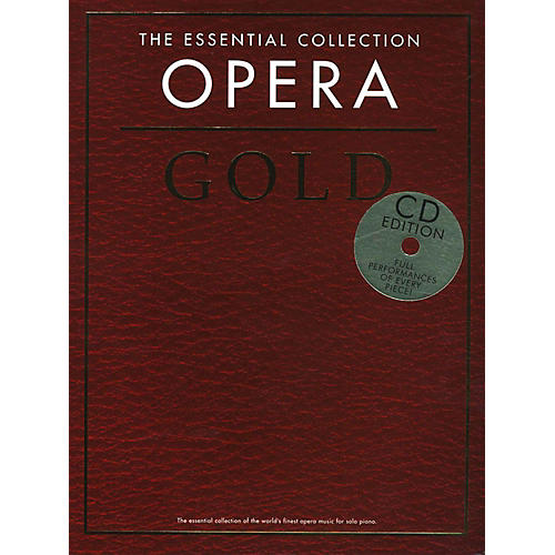 Music Sales The Essential Collection Opera Gold Book/2CD