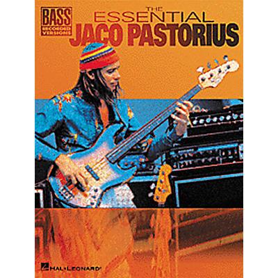 Hal Leonard The Essential Jaco Pastorius Bass Guitar Tab Songbook