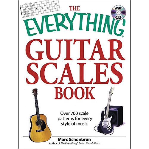 Hal Leonard The Everything Series - Guitar Scales Book