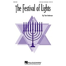 Hal Leonard The Festival of Lights 2-Part any combination arranged by Tom Anderson