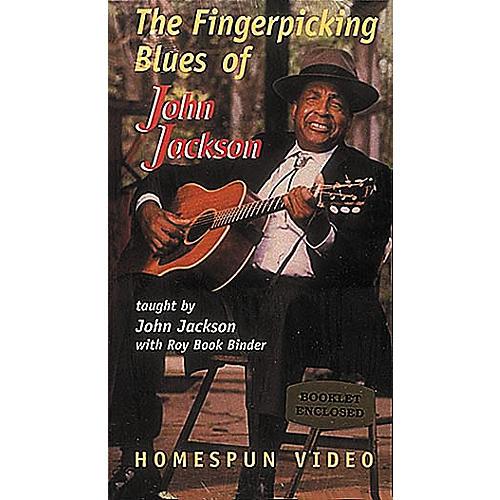 Homespun The Fingerpicking Blues of John Jackson (VHS)