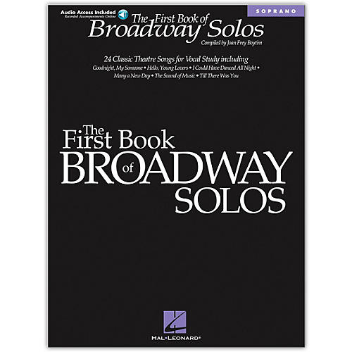 The First Book of Broadway Solos (Book/Online Audio)