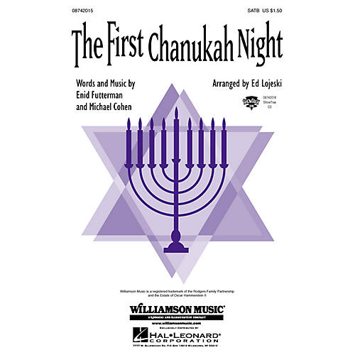 Hal Leonard The First Chanukah Night SATB arranged by Ed Lojeski