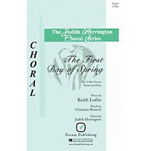 Pavane The First Day of Spring 2-Part composed by Keith Loftis
