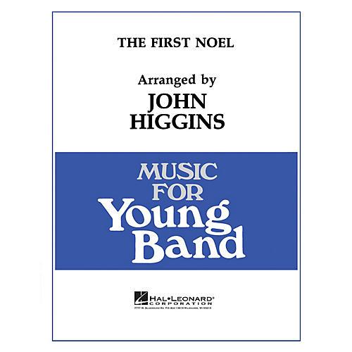 Hal Leonard The First Noel - Young Concert Band Level 3 by John Higgins