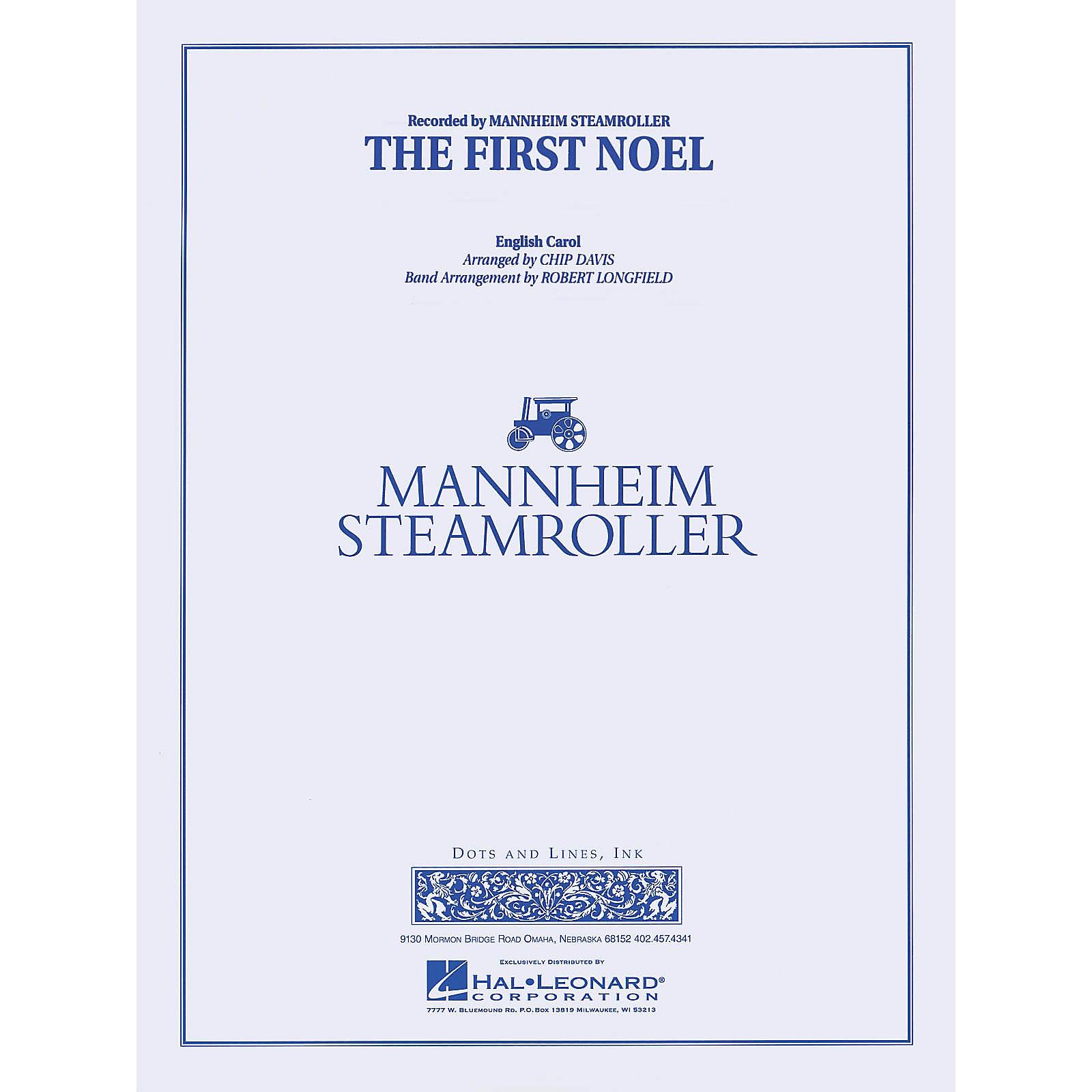 Mannheim Steamroller The First Noel Concert Band Level 3-4 by Mannheim Steamroller Arranged by Robert Longfield