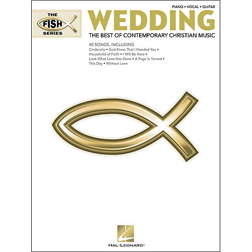 Hal Leonard The Fish Series: Wedding (White Book) arranged for piano, vocal, and guitar (P/V/G)