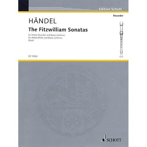 Schott The Fitzwilliam Sonatas Schott Series Composed by Georg Friedrich Händel Arranged by Thurston Dart