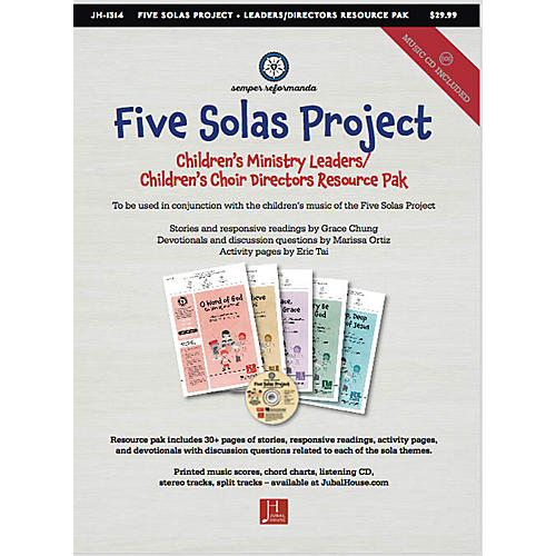 Jubal House Publications The Five Solas (Bundle of All Kid's Resources) Resource Kit composed by Edwin M. Willmington