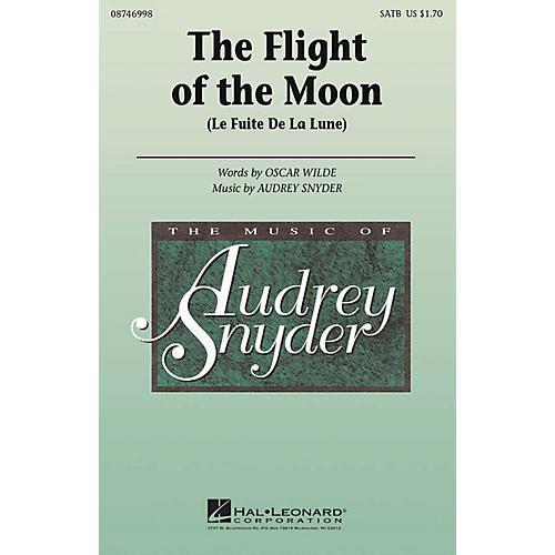 Hal Leonard The Flight of the Moon (La Fuite De La Luna) SATB composed by Audrey Snyder