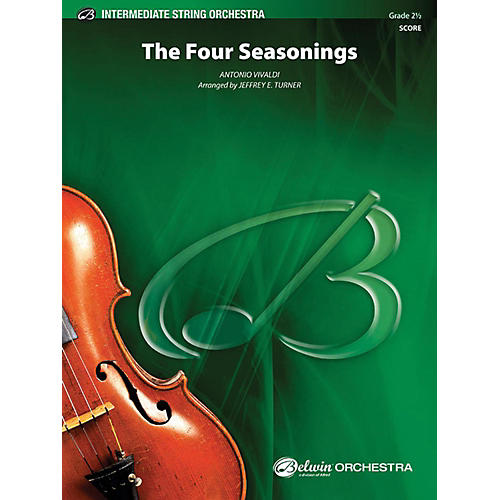 Alfred The Four Seasonings String Orchestra Grade 2.5