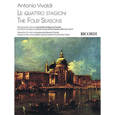 Ricordi The Four Seasons Ricordi Series Softcover Composed by Antonio Vivaldi Edited by Maurizio Carnelli