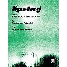 Alfred The Four Seasons: Spring for Violin By Antonio Vivaldi Book