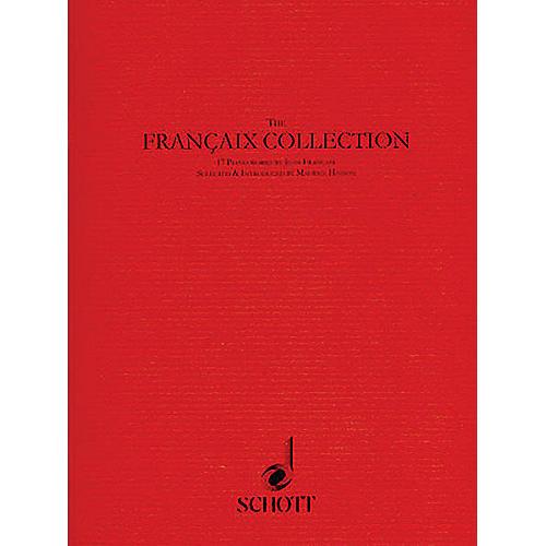 Schott The Françaix Collection (17 Piano Pieces) Schott Series Softcover Composed by Jean Françaix