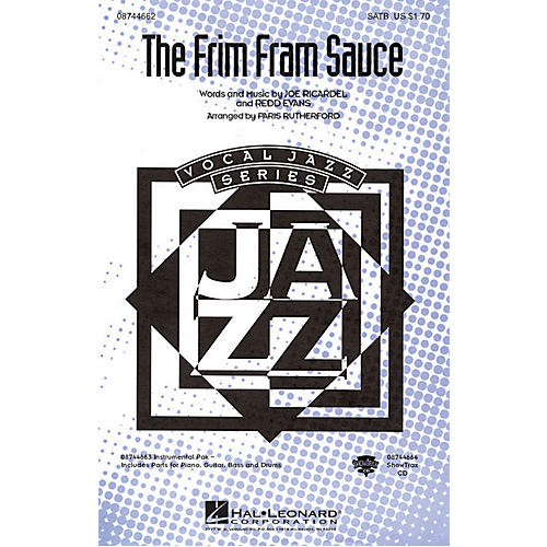 Hal Leonard The Frim Fram Sauce IPAKR Arranged by Paris Rutherford