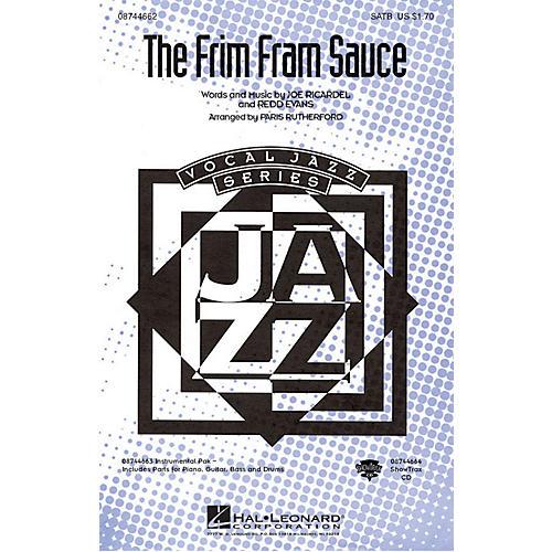 Hal Leonard The Frim Fram Sauce SATB arranged by Paris Rutherford