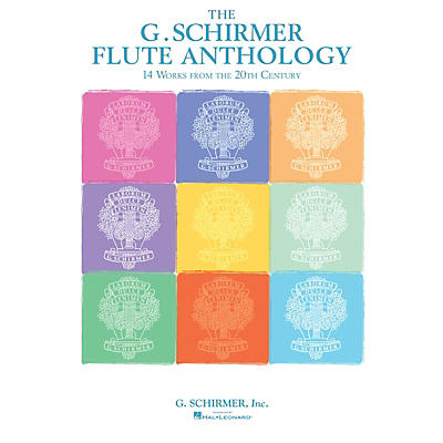 G. Schirmer The G. Schirmer Flute Anthology (14 Works from the 20th Century) Woodwind Solo Series Softcover