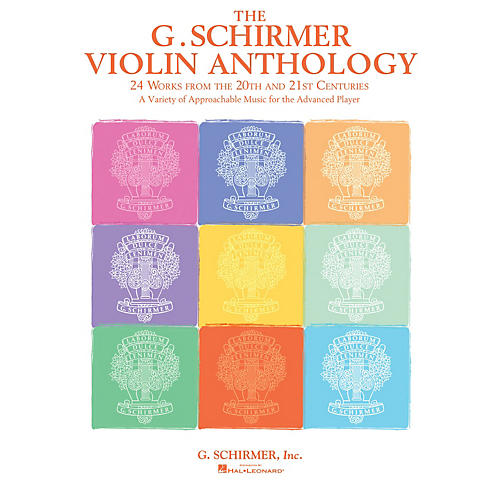 G. Schirmer The G. Schirmer Violin Anthology (24 Works from the 20th and 21st Centuries) String Solo Series Softcover