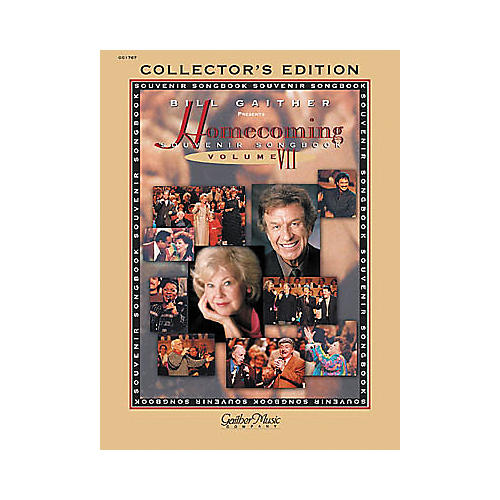 Word Music The Gaithers - Homecoming Souvenir Volume 7 Piano, Vocal, Guitar Songbook