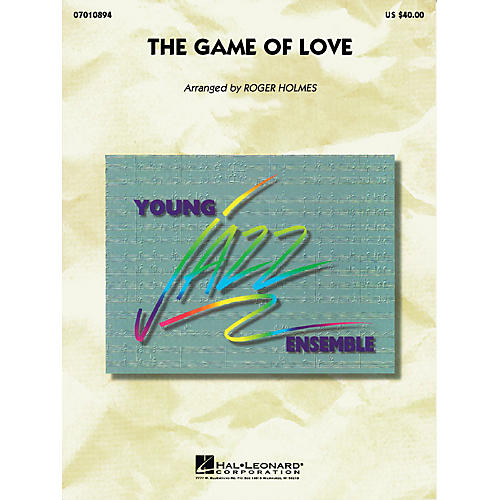 Hal Leonard The Game Of Love Jazz Band Level 3 by Santana Arranged by Roger Holmes