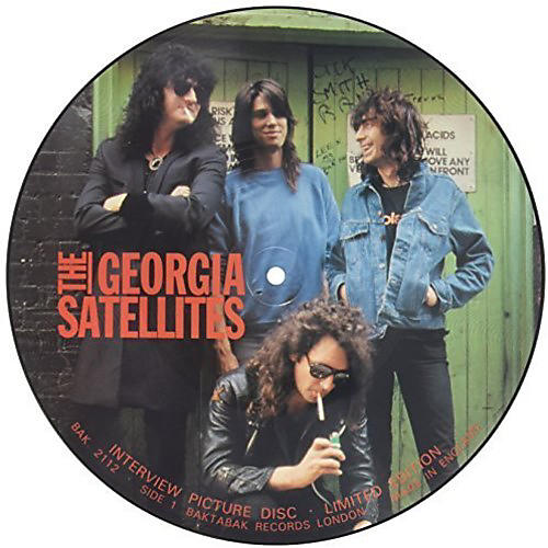 Alliance The Georgia Satellites - 80's Interview Picture Disc