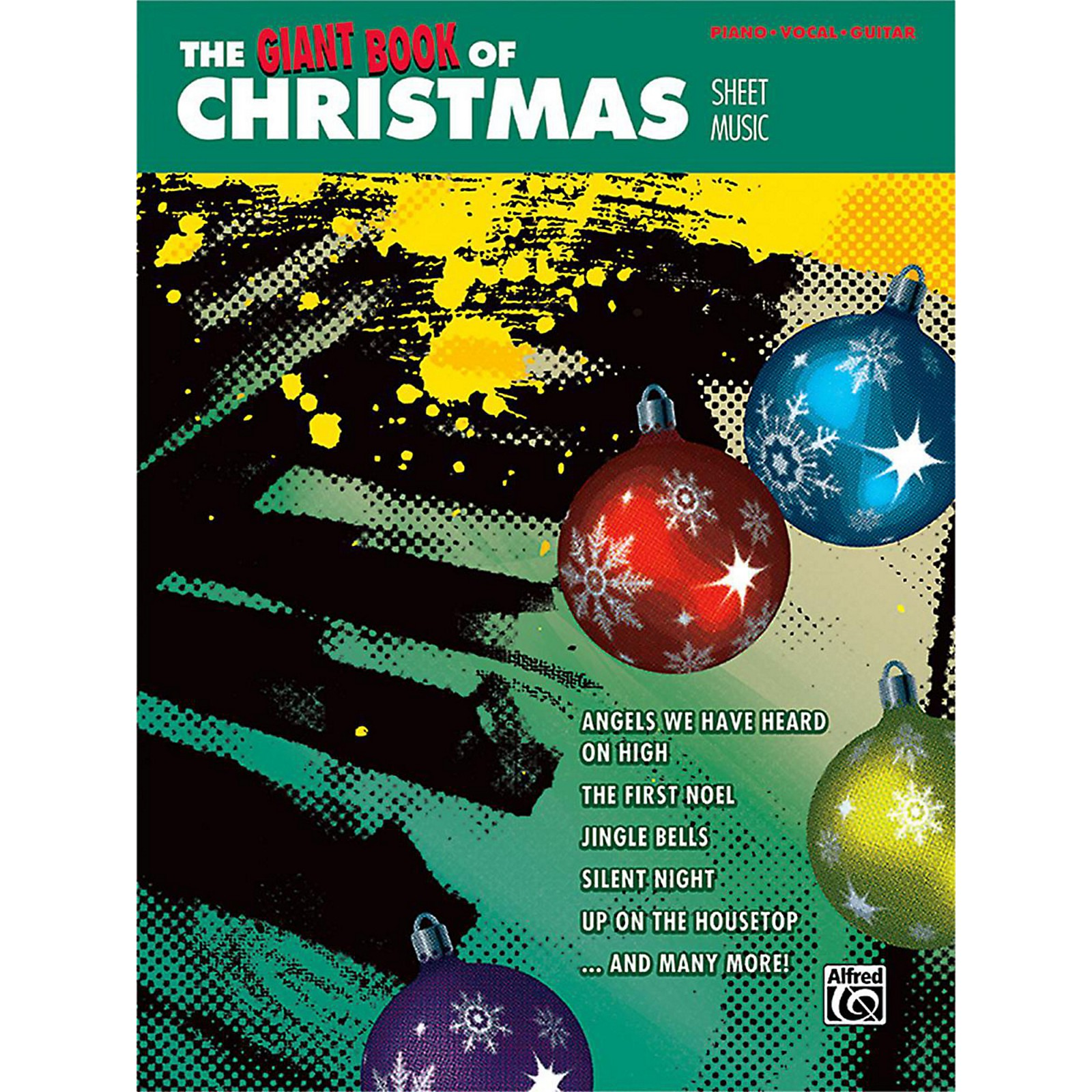 Alfred The Giant Book of Christmas Sheet Music Piano/Vocal/Guitar