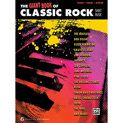 Alfred The Giant Book of Classic Rock Sheet Music - P/V/C Book