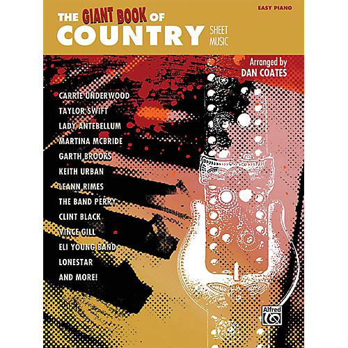 Alfred The Giant Book of Country Sheet Music Easy Piano Book