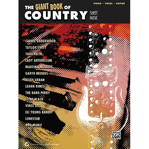 Alfred The Giant Book of Country Sheet Music P/V/C Book