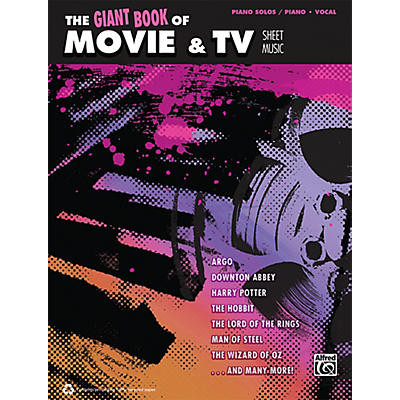 Alfred The Giant Book of Movie & TV Sheet Music P/V/C Book