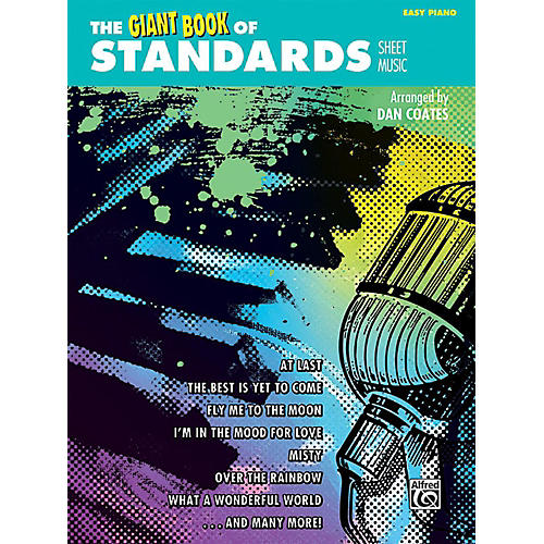 Alfred The Giant Book of Standards Sheet Music Easy Piano Book