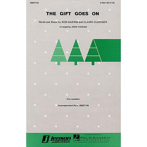 Hal Leonard The Gift Goes On 2-Part arranged by John Higgins