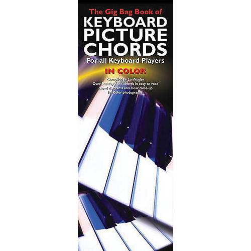 Music Sales The Gig Bag Book of Keyboard Picture Chords in Color Music Sales America Softcover by Various Authors