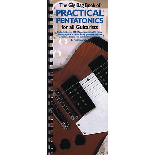 Music Sales The Gig Bag Book of Practical Pentatonics for All Guitarists Music Sales America Book by Matt Scharfglass