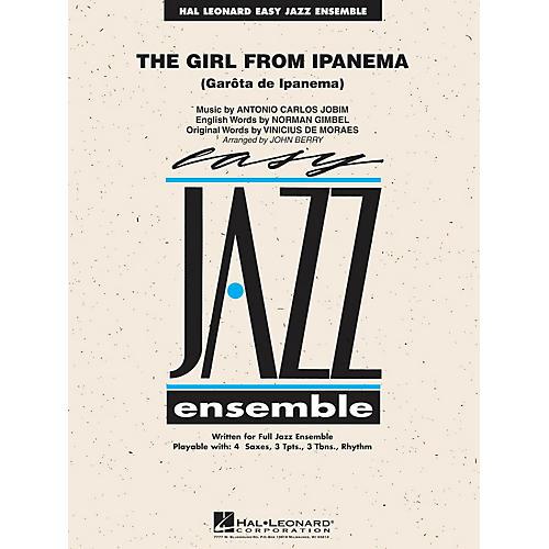 Hal Leonard The Girl from Ipanema Jazz Band Level 2 Arranged by John Berry