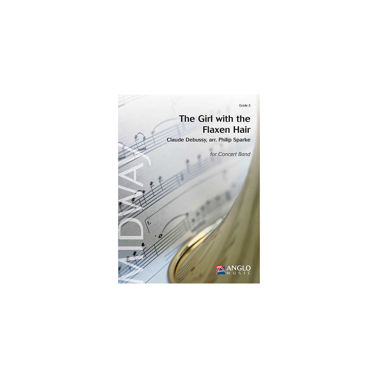 De Haske Music The Girl with the Flaxen Hair (Grade 3 - Score and Parts) Concert Band Level 3 Arranged by Philip Sparke