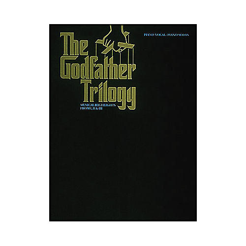 Hal Leonard The Godfather Trilogy arranged for piano solo