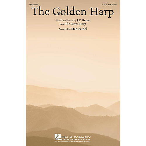 Hal Leonard The Golden Harp SATB arranged by Stan Pethel