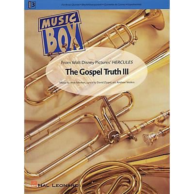 Hal Leonard The Gospel Truth III (from Hercules) De Haske Ensemble Series Arranged by Andrew Watkin