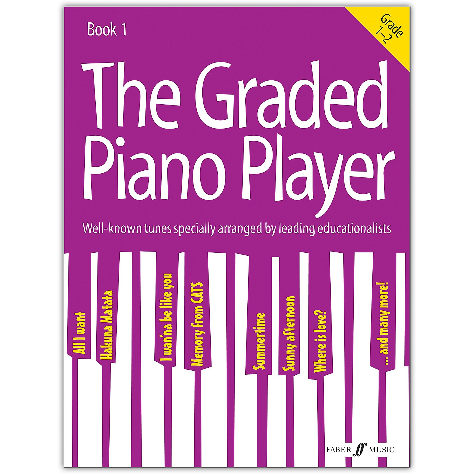 Faber Music LTD The Graded Piano Player, Book 1 (Grades 1--2)