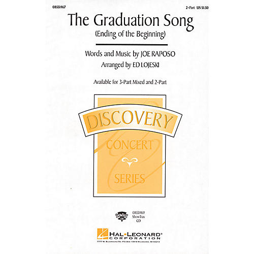 Hal Leonard The Graduation Song (Ending of the Beginning) 2-Part arranged by Ed Lojeski