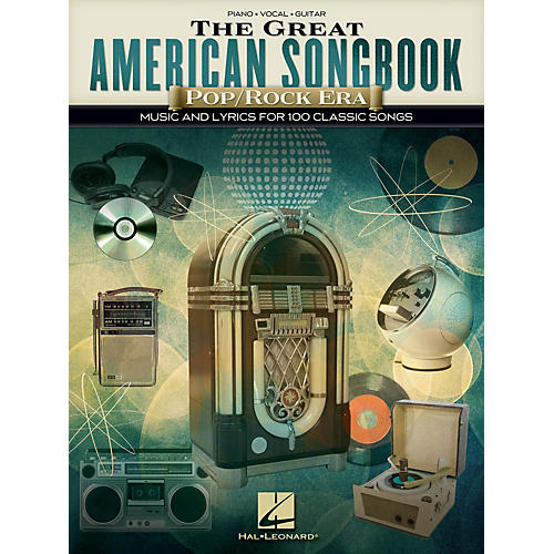 Hal Leonard The Great American Songbook - Pop/Rock Era Piano/Vocal/Guitar Songbook
