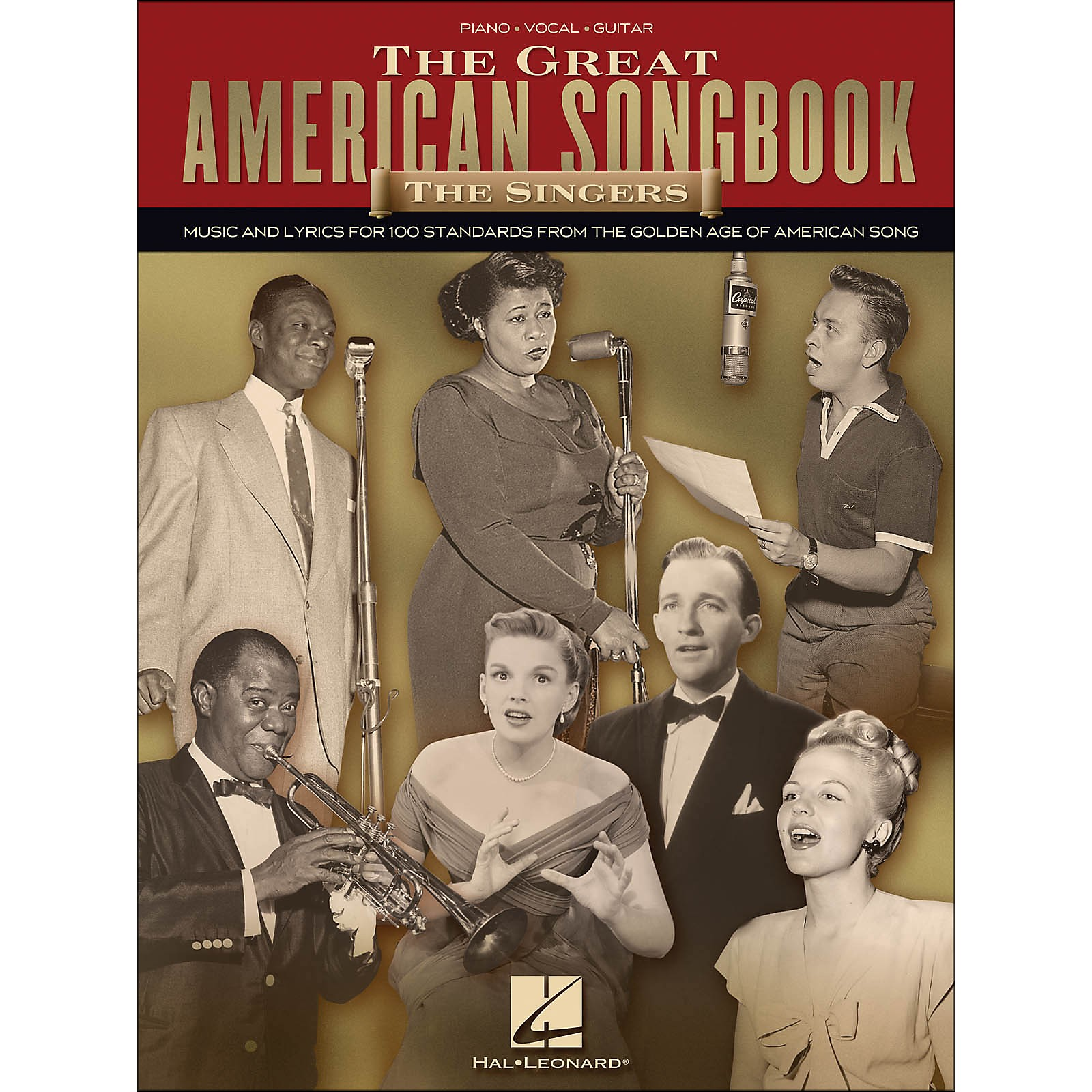 Hal Leonard The Great American Songbook - The Singers arranged for piano, vocal, and guitar (P/V/G)