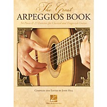 Hal Leonard The Great Arpeggios Book - 54 Pieces & 23 Exercises for Classical and Fingerstyle Guitar